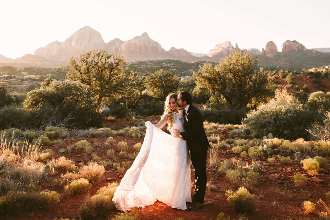 Beautiful Sedona Weddings locations venues and services
